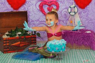 Carolyne   Foto Bambini Smash CakeNapoli