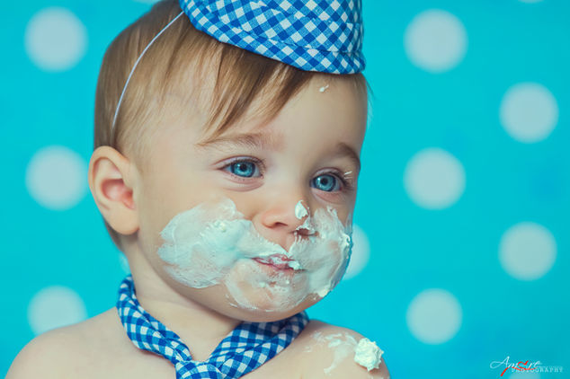 Daniele   Foto Bambini Smash CakeNapoli