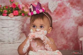 Giovanna   Foto Bambini Smash CakeNapoli