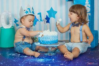 Christan | Foto Bambini Smash CakeNapoli