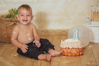 Alessandro | Foto Bambini Smash CakeNapo