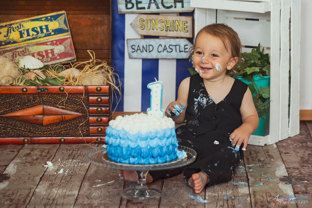 Gabriele | Foto Bambini Smash CakeNapoli