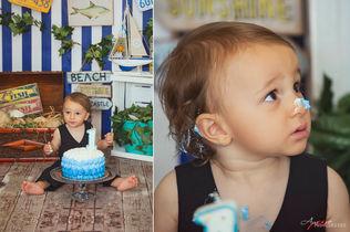 Gabriele   Foto Bambini Smash CakeNapoli