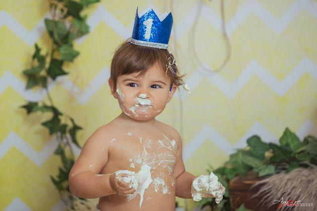 Domenico | Foto Bambini Smash CakeNapoli