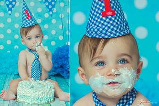 Daniele | Foto Bambini Smash CakeNapoli