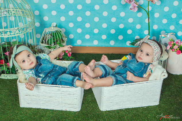 Maya e Sofia | Foto Newborn Neonati Napo