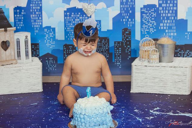 Vincenzo   Foto Bambini Smash CakeNapoli