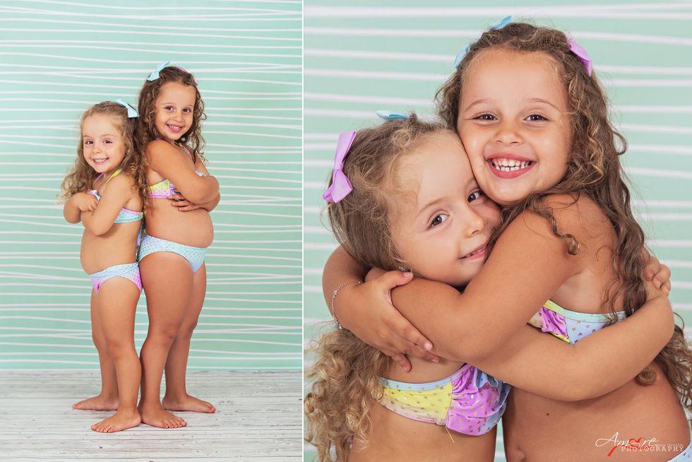 Jasmine e Azzurra     Foto Bambini Napol