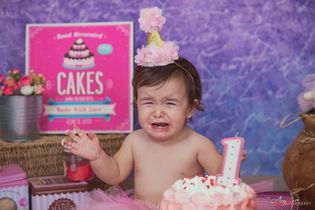 Swami   Foto Bambini Smash CakeNapoli e