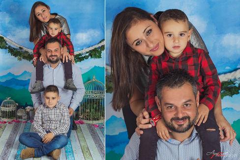 Happy Family 2018 | Fotografo famiglie N