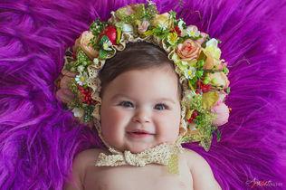 Viola | Foto Newborn Neonati Napoli Case
