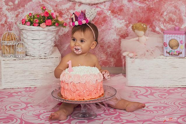 Giovanna | Foto Bambini Smash CakeNapoli