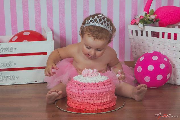 Clarissa   Foto Bambini Smash CakeNapoli
