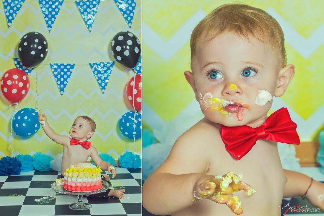 Giovanni | Foto Bambini Smash CakeNapoli