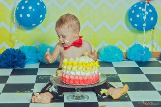 Giovanni   Foto Bambini Smash CakeNapoli