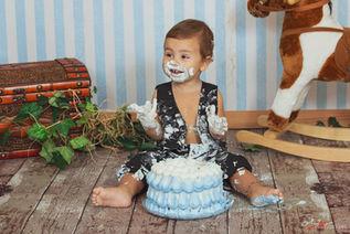 Francesco | Foto Bambini Smash CakeNapol