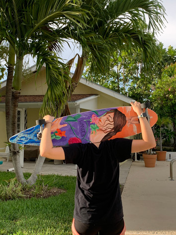 Longboard Painting