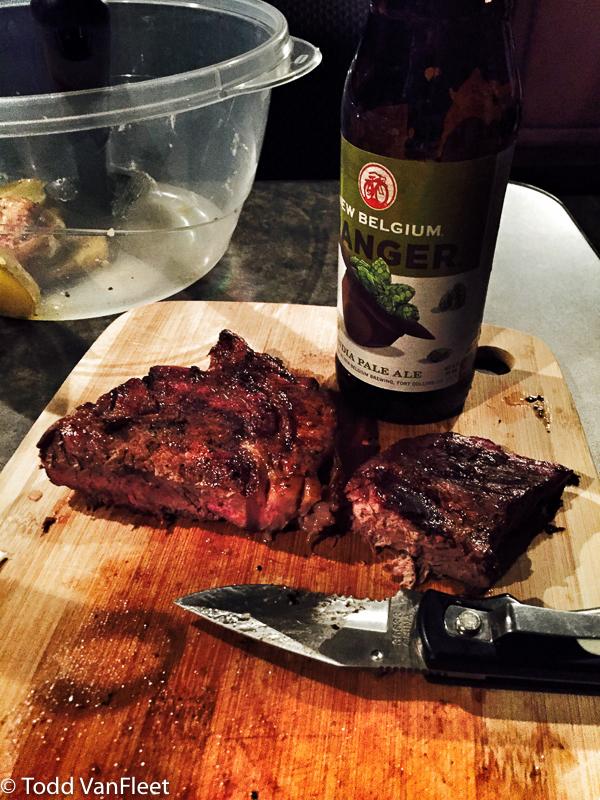 Steaks + IPA + Pocket Knife!