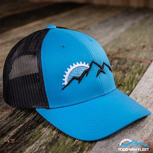 TVF Adventure Trucker Hat: CYAN