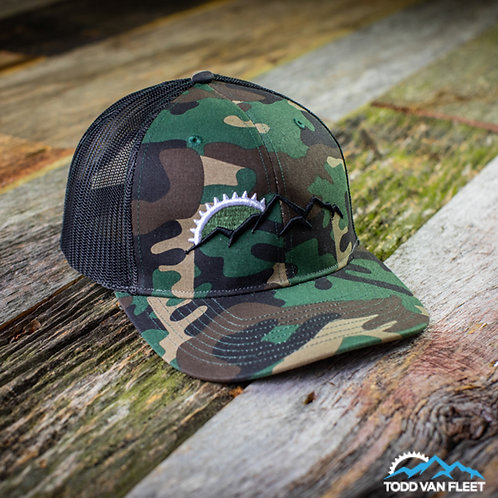 TVF Tactical Camo Trucker Hat
