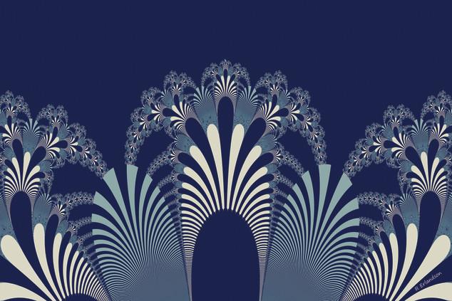 Fancy Garden Blue