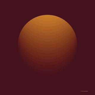 Dark Orange Shpere