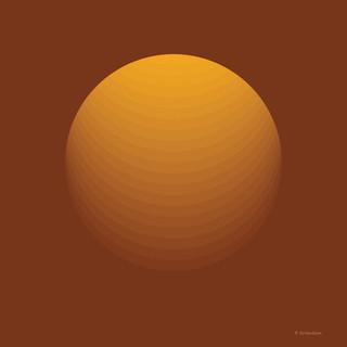 Medium Orange Shpere