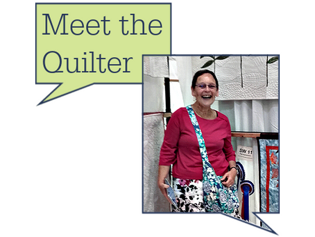 Meet the quilter: Glenys Knight
