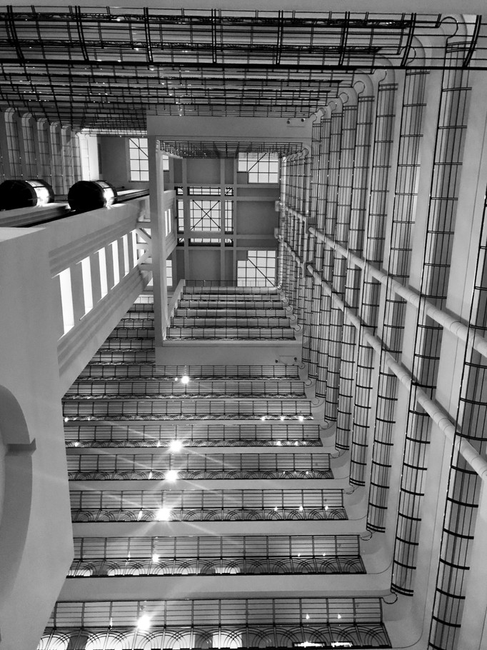 up the Marriott B&W.jpg
