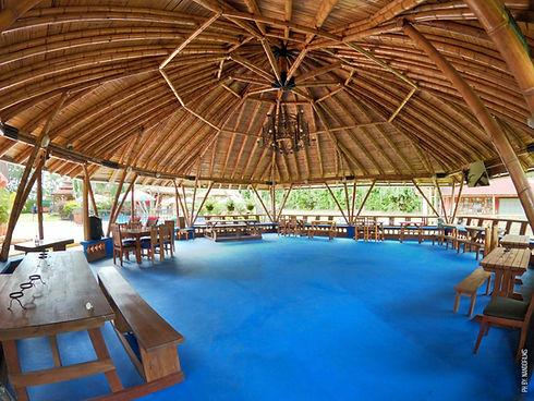 Arquitectura hecha en Guadua, Bamboo Colombiano, cultivado en La Granja Ecohotel