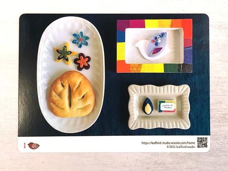 leafbird studioのレシピカード#1天然酵母のスコーン