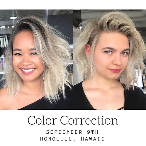 Color Correction Master Class 9/9/2018