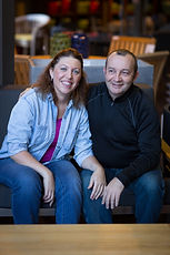 Owners Christophe & Michelle