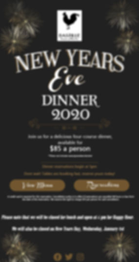 New Years Eve 2019-2020