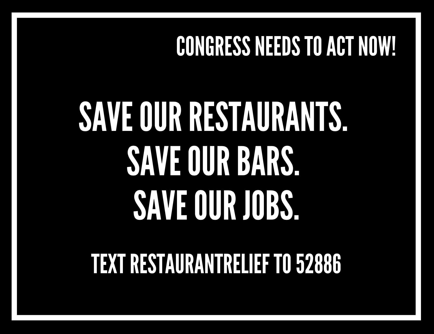 Save our Restaurants