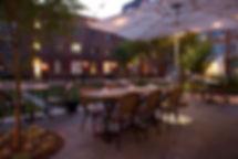 Bastille's courtyard patio