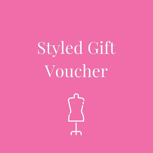 Styled Gift Voucher