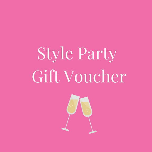 Style Party Gift Voucher