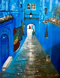 Bluecity 40x60 Acrylic on canvas