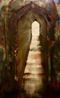 albawaba 2 30x48 mixed media on canvas