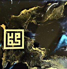 Resin art 10x10