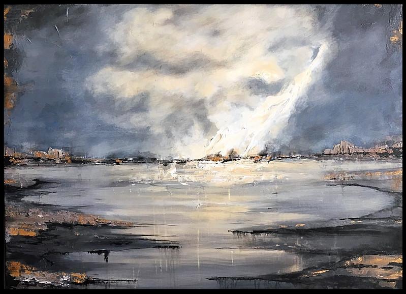 Serenity 30x40 acrylic on canvas