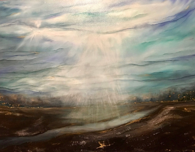 Guided 30x40 oil on canvas