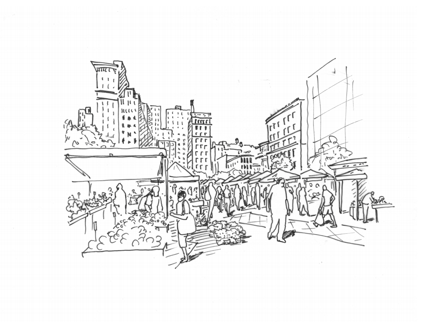 Union Square for Marvel Architects Proposal, 2019