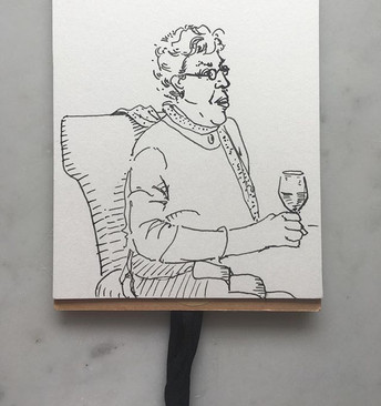 grandmother's first happy hour