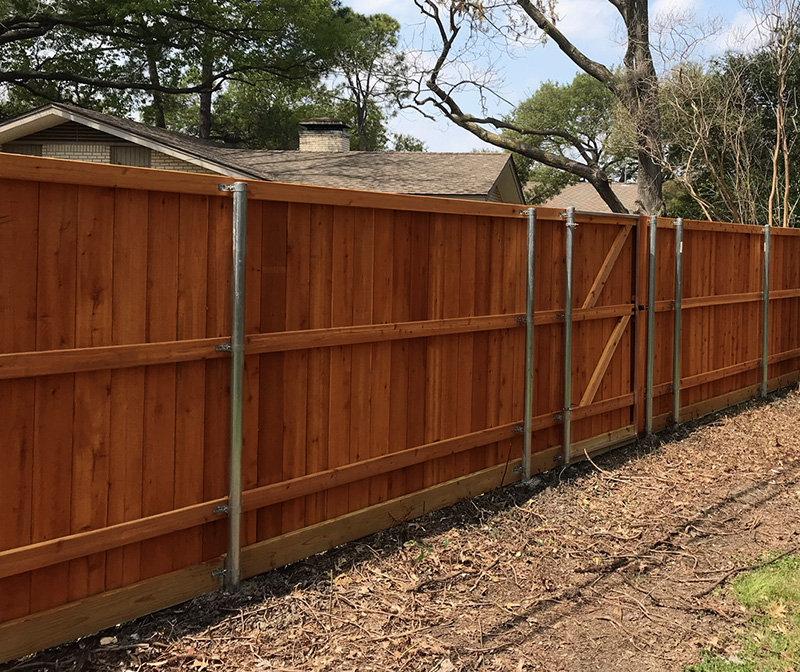 Cedar, Walmanized, Galvanized fencing