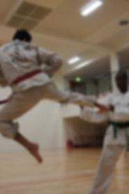 Jumping Side Kick