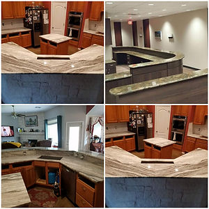marble quartz granite installation