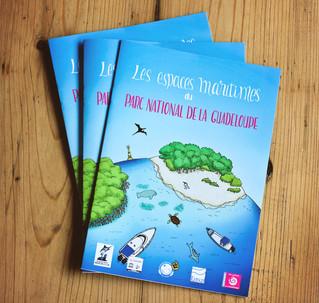 Des illustrations pour le Parc national de Guadeloupe