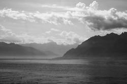 Vue sur les Alpes, Suisse